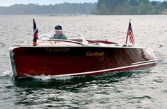 Beautiful Garwood boat. Looks like the Jessie!