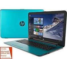 HP 15 Laptop AMD A12, 12GB 2TB HD, Office ExtendedBattery & Tech Support
