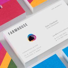 Confira este projeto do @Behance: Identity Design, Visual Identity, Storytelling, Business Cards, Behance, Farmhouse, Invitations, Creative, Lipsense Business Cards