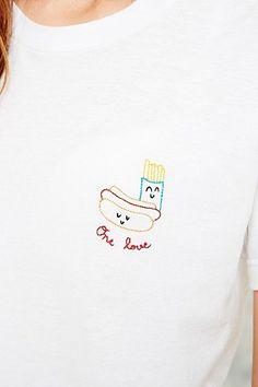 Cheeky Boom - T-shirt blanc One Love