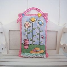 garden themed pin cushion £4.00