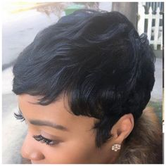 Hairstyles For Black Women .Hairstyles For Black Women Dope Hairstyles, My Hairstyle, Pretty Hairstyles, Formal Hairstyles, Braided Hairstyles, Short Sassy Hair, Short Hair Cuts, Pixie Cuts, Short Pixie