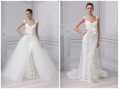 two in one wedding dresses | ... ConvertibleWeddingDress 005 Long & Short of it 2 in 1 Wedding Dresses