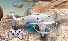 RC Quadrocopter Rayline R804 2.4 GHz 6-Achsen Gyro Drohne