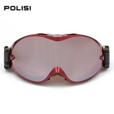 37.22$  Buy here - http://alisvw.shopchina.info/1/go.php?t=32616469232 - HOT Off-Road Snowboard Snowmobile Ski Goggles Sunglasses Sports Glasses Colors Lens Skiing Goggles Big Spherical p803#3  #bestbuy