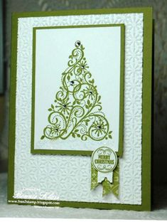 Merry Monday Snow Swirled by bon2stamp - Cards and Paper Crafts at Splitcoaststampers