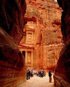 City of Petra, Jordan.
