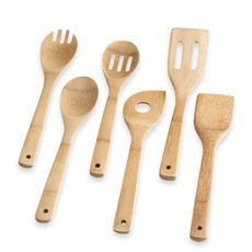 Totally Bamboo 6-Piece Bamboo Utensil Set - Bed Bath & Beyond  ...$5.99