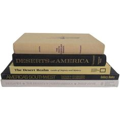 Deserts of North America Collection - Set of 5 (350 PLN) ❤ liked on Polyvore featuring filler and art books