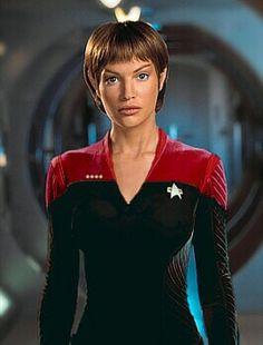 Jolene Blalock as T'Pol in Star Trek Enterprise- Man, now I know why I favor Vulcans..... (-;