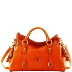 Orange Dooney & Bourke Satchel