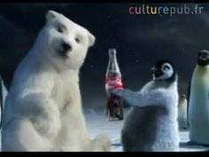 Coca-Cola Polar Bear Wallpaper | Cute polar bear family sharing the joys of Christmas ! The cool side ...