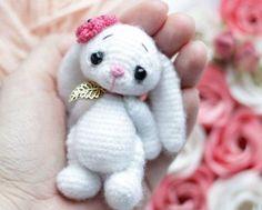 Crochet bunny amigurumi pattern free