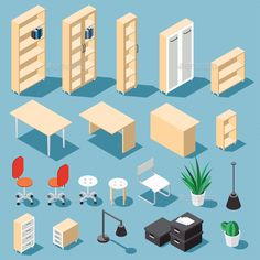 Furniture For Small Bedrooms Info: 3467887693 Isometric Drawing, Isometric Design, Pattern Illustration, Digital Illustration, Whale Illustration, Design Your Own Bedroom, Photoshop Rendering, Simple Art, Clipart
