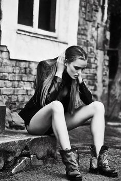 Fashion magazine by Patrycja Lukrecja  - Fashion Photography - Biker - Punk - Rebel