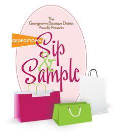 Georgetown Sip and Sample Sale, April 18, 2012