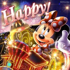 Disney's Minnie Mouse:) Mickey Mouse And Friends, Mickey Minnie Mouse, Disney Mickey, Walt Disney, Happy Birthday Disney, Birthday Wishes For Kids, Disney Images, Disney Pictures, Disney Pics