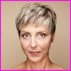 The Pixie haircut creates thicker hair look. If you're looking for pixie haircut for thin hair, here are elegant pixie haircuts for thin hair Haircut For Older Women, Haircuts For Fine Hair, Short Pixie Haircuts, Hairstyles Over 50, Short Hairstyles For Women, Pixie Hairstyles, Straight Hairstyles, Cool Hairstyles, Hairstyle Short