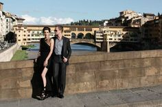 It's been a wild ride! Salute to #RoBarn, How I Met Your Mother and a fantastic photoshoot in Italy. If possible these two make the #PonteVecchio bridge even more breathtaking!