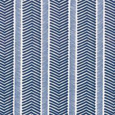 LOVE this.  Inside of pantry.    Herringbone Wallpaper – Navy/Denim | Serena & Lily