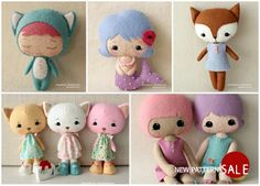 Do you think sew? Yes, I think sew! Can't stand how cute these are...