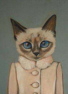 Violet by Heather Mattoon, Cats in Clothes
