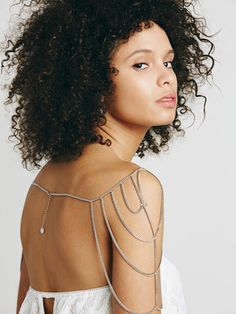 Shoulder Chain   10 Accessories You Never Knew You Could Wear on Your Wedding Day   https://www.theknot.com/content/10-ready-to-wear-bridal-accessories