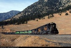 RailPictures.Net Photo: D&RGW 5406 Denver & Rio Grande Western Railroad EMD SD40T-2 at Plainview, Colorado by John Shine