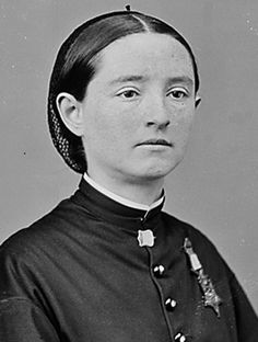 """Mary Walker - In all of American history, only one woman has been awarded the Medal of Honor — and Congress tried to take it back. She was a doctor at a time when female physicians were rare. President Andrew Johnson signed a bill awarding Walker the Medal of Honor in 1865, because she """"has devoted herself with much patriotic zeal to the sick and wounded soldiers, both in the field and hospitals, to the detriment of her own health, and has also endured hardships as a prisoner of war."""":"""