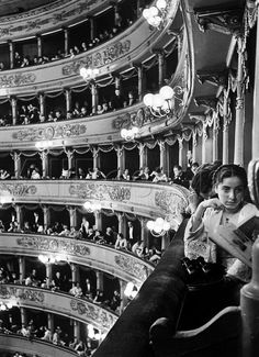 Premiere at La Scala, Milan, Italy (1934) by Alfred Eisenstaedt
