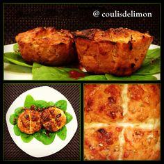 Pastelitos de pavo, tomate y orégano. Una comida sana y muy rica! - esto sirve para Dukan?