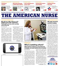 The Sept/Oct issue of The American Nurse is here, with a focus on technology. Members, watch your mailbox and read the current issue online