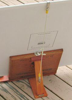 Cigar Box kit - WetCanvas Art Supplies Storage, Art Storage, Arts And Crafts Supplies, Art Painting Supplies, Painting Lessons, Pochade Box, Cigar Box Crafts, Watercolor Kit, Art Studio Organization