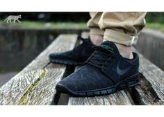 Nike SB STEFAN JANOSKI MAX (Black / Black - Pine Green)