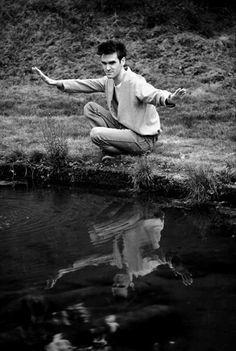 #Morrissey Kevin Cummins: Morrissey. Dunham Massey, Greater Manchester. 1983 © Kevin Cummins