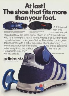 adidas LA Trainer: Launched in 1984.