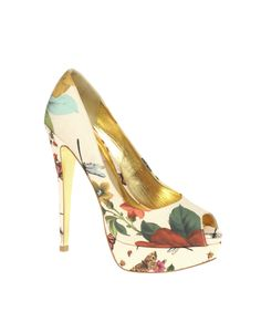 Ted Baker Carlina High Platform Peep Toe Shoe