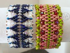 super duos, sizes 8,11 and 15 seed beads and 3 mm and  4 mm round or fire polished beads