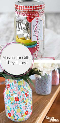 Whether you give Mason jar gifts to friends and family for Christmas, for a birthday, or for any other reason, you will find inspiration from this roundup of our favorite gift ideas. The best part about Mason jars is that they're super versatile and can be used to make a lot of different types of presents.