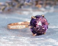HANDMADE RINGS & BRIDAL SETS by MoissaniteRings on Etsy Bridal Ring Sets, Handmade Rings, Gold Rings, Amethyst, Etsy Seller, Rose Gold, Unique Jewelry, Engagement Rings, Vintage