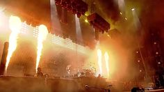 Watch RAMMSTEIN's Fiery 'Sonne' Performance From Germany's ROCK IM PARK Festival - Absolutely mind blowing show and worth the trek from Australia to see it!!!