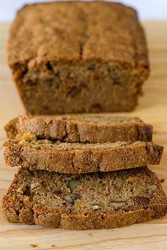 Zucchini Pineapple Bread Recipe | Brown Eyed Baker