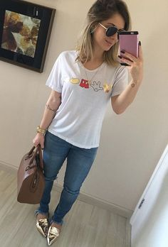 Jeans Outfit Summer, Casual Summer Outfits, Fall Outfits, Fashion Outfits, Trendy Fashion, Fashion Looks, Womens Fashion, Casual Chic, Tumblr Outfits