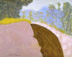 milton avery - spring brook 1955