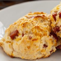 Bacon Cheese Biscuits with Franks