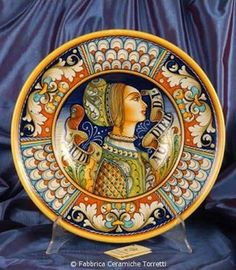 THE BEAUTY OF ITALY - DERUTA pottery on Pinterest  Discos, Italian Pottery a...