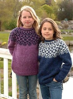 the online pattern store Knitting Kits, Fair Isle Knitting, Knitting For Kids, Baby Knitting, Icelandic Sweaters, Wool Sweaters, Crochet Wool, Fair Isle Pattern, How To Purl Knit