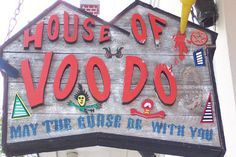 House of Voodoo, Bourbon Street, a jazz funeral and bottomless daiquiris are just a few signs that you're in New Orleans. Take a look at some funny signs that you may see when visiting the Big Easy. New Orleans Vacation, New Orleans Travel, New Orleans Shopping, Nola Vacation, New Orleans Voodoo, New Orleans Louisiana, New Orleans Halloween, New Orleans Music, French Quarter