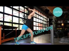 Triceps Turn-On Exercises | Perfect Form With Ashley Borden (foam roller & stretches)