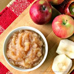 Homemade Chunky Applesauce - Easy to make. Delicious!